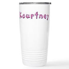 Kourtney Pink Giraffe Travel Mug