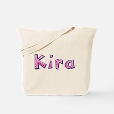 Kira Pink Giraffe Tote Bag