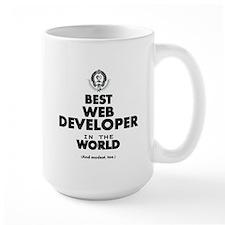 Best Web Developer in the World Mugs