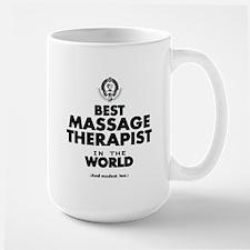 Best Massage Therapist in the World Mugs