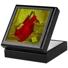 King Solomon Magic Lantern Slide Keepsake Box
