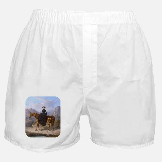 Out for a Ride Boxer Shorts