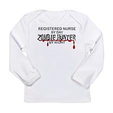 Zombie Hunter - RN Long Sleeve Infant T-Shirt