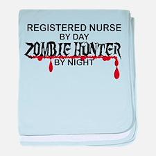 Zombie Hunter - RN baby blanket