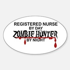 Zombie Hunter - RN Decal