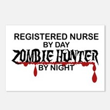 Zombie Hunter - RN Postcards (Package of 8)