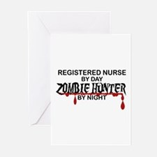 Zombie Hunter - RN Greeting Cards (Pk of 10)