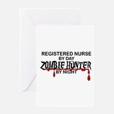 Zombie Hunter - RN Greeting Card