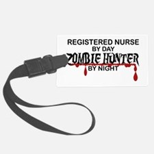 Zombie Hunter - RN Luggage Tag