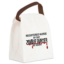 Zombie Hunter - RN Canvas Lunch Bag