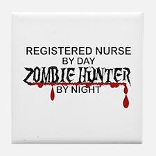 Zombie Hunter - RN Tile Coaster