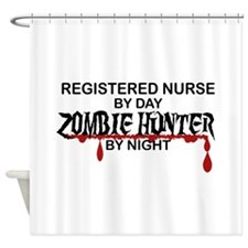 Zombie Hunter - RN Shower Curtain