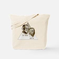 Doctor Bob and Bill Wilson Tote Bag