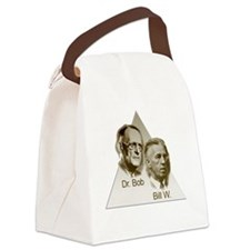 Doctor Bob and Bill Wilson Canvas Lunch Bag