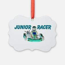 Junior Racer Ornament