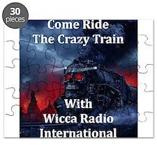 Ride the Crazy Train Puzzle
