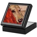 Dog Square Keepsake Boxes