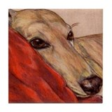 Greyhound dog Drink Coasters