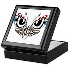 Butterfly Eyes Tattoo Keepsake Box