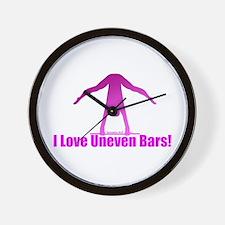 Gymnastics Clock - Bars