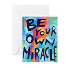 Be Your Own Miracle Greeting Cards (pk Of 10) Gree