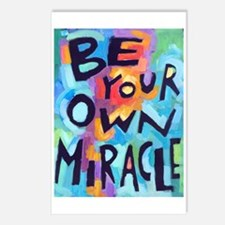 Be Your Own Miracle Postcards (Package Of 8) Postc