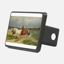 Wild Horses on the Run Hitch Cover
