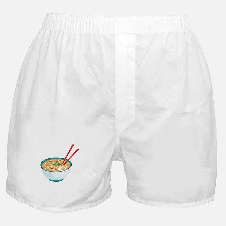 Pho Noodle Bowl Boxer Shorts