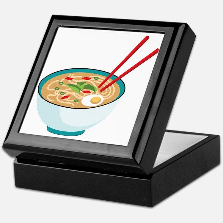Pho Noodle Bowl Keepsake Box