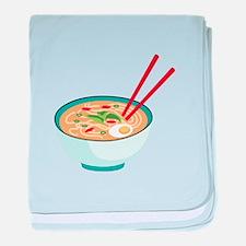Pho Noodle Bowl baby blanket