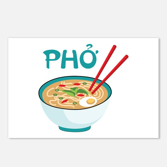 PHO Postcards (Package of 8)