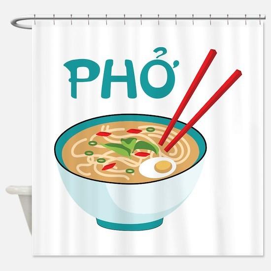 PHO Shower Curtain