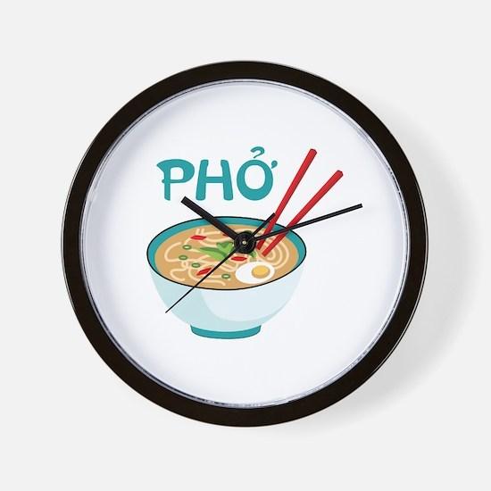 PHO Wall Clock