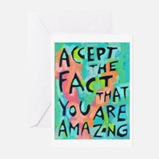 Accept The Fact That You Greeting Cards (Pk Of 10)