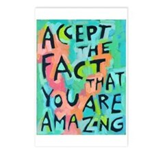 Accept The Fact That You Postcards (Package Of 8)