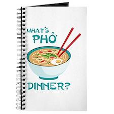 Whats Pho Dinner? Journal