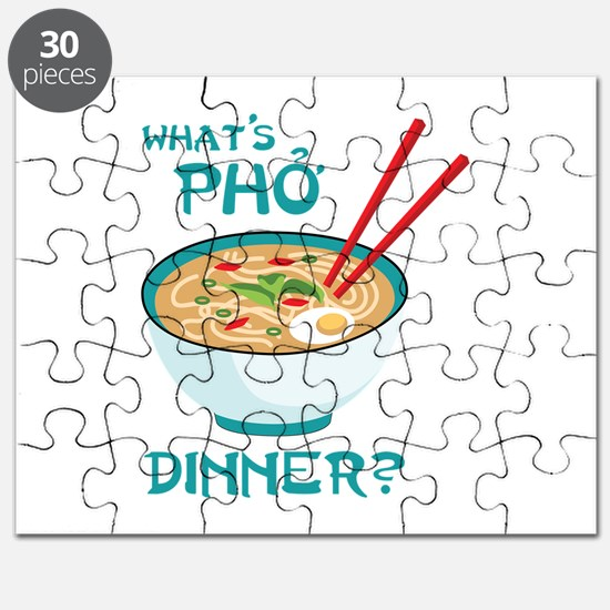 Whats Pho Dinner? Puzzle