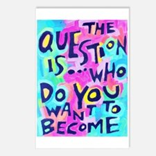 The Questions Is Who Do Y Postcards (Package Of 8)