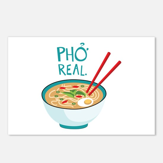 Pho Real. Postcards (Package of 8)