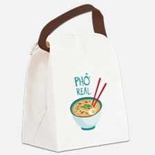 Pho Real. Canvas Lunch Bag