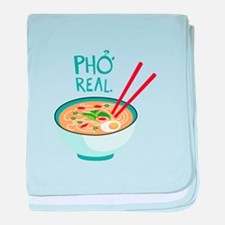 Pho Real. baby blanket