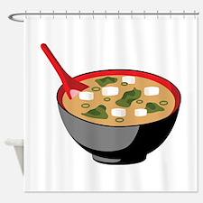 Miso Soup Bowl Shower Curtain
