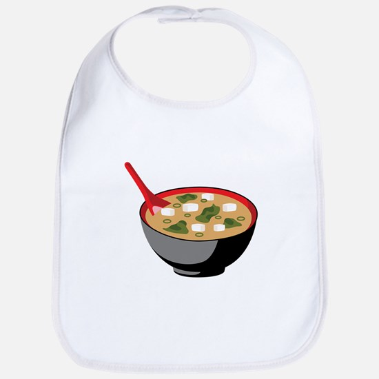 Miso Soup Bowl Bib