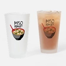 MISO HUNGRY Drinking Glass