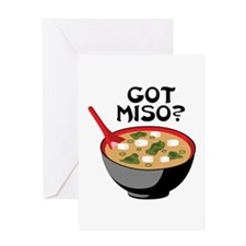 GOT MISO? Greeting Cards