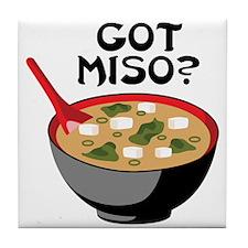 GOT MISO? Tile Coaster