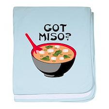GOT MISO? baby blanket