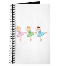 Ballerina Girls Dancing Journal