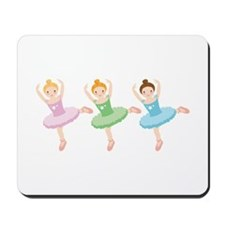 Ballerina Girls Dancing Mousepad