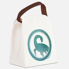 Nessie - Loch Ness Monster Canvas Lunch Bag